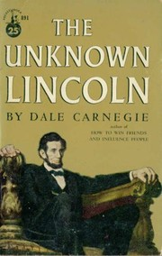 Cover of: Lincoln, the unknown