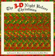 Cover of: The 3-D night before Christmas
