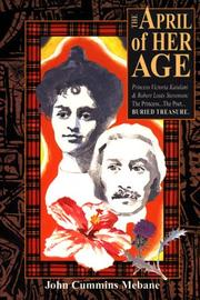 Cover of: The April of her age | John Cummins Mebane