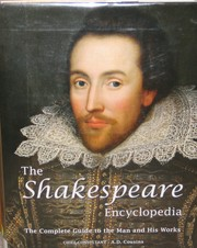 Cover of: The Shakespeare Encyclopedia