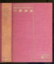 Cover of: Rhododendron pie
