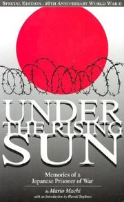 Cover of: Under the rising sun