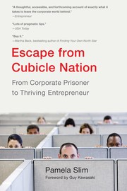 Cover of: Escape from cubicle nation | Pamela Slim