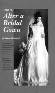 Cover of: How to alter a bridal gown