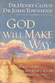 Cover of: God will make a way