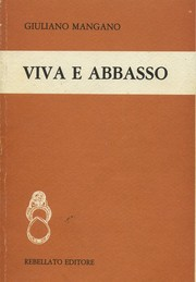 Cover of: Viva e abbasso