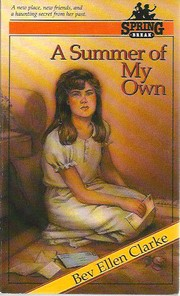 Cover of: A summer of my own