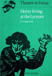 Cover of: Henry Irving at the Lyceum. | George Taylor