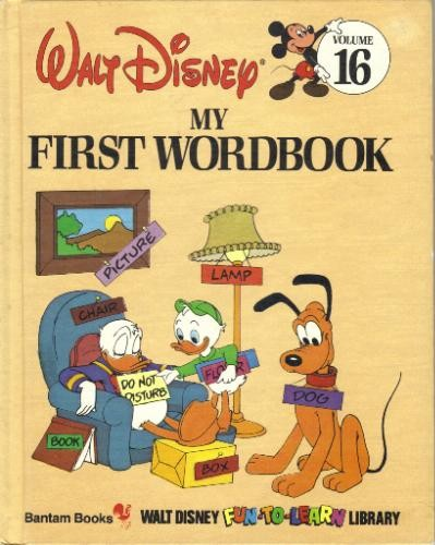 My First Word Book (Disney's Fun to Learn Ser) by