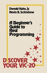 Cover of: Discover your VIC-20 | Donald Kahn