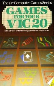 Games for your VIC20 by Alastair Gourlay