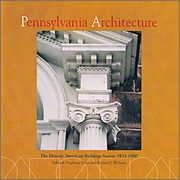 Cover of: Pennsylvania architecture | Deborah Stephens Burns