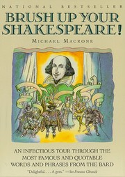 Cover of: Brush Up Your Shakespeare! |
