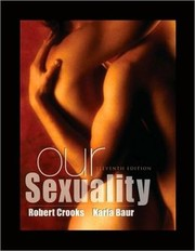 Cover of: Our sexuality | Crooks, Robert
