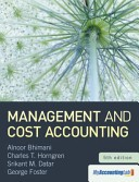 Cover of: Management and cost accounting | Alnoor Bhimani