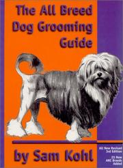 Cover of: The all breed dog grooming guide