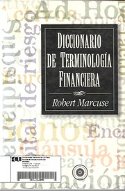 Cover of: Diccionario de terminología financiera