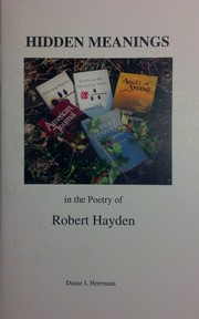 Cover of: Hidden Meanings in the Poetry of Robert Hayden |