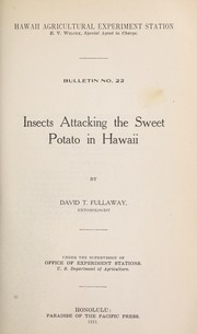 Cover of: Insects attacking the sweet potato in Hawaii