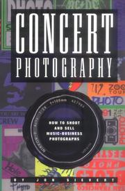 Cover of: Concert photography