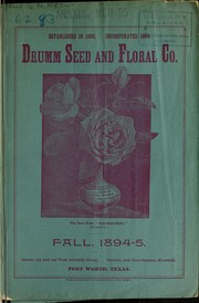Cover of: Drumm Seed and Floral Co | Drumm Seed and Floral Co