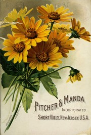 Cover of: [General illustrated catalogue of plants | Pitcher & Manda