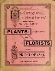 Cover of: McGregor Brothers