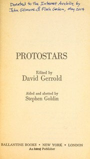 Cover of: Protostars