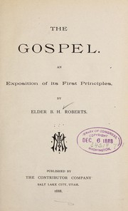 Cover of: The gospel