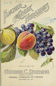 Cover of: Fancher Creek Nurseries ; George C. Roeding