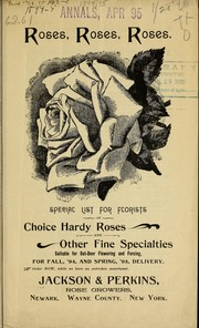 Cover of: Roses, roses, roses