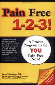 Cover of: Pain Free 1-2-3! A Proven Program to Get You Pain Free NOW
