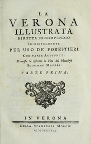 Cover of: La Verona illustrata