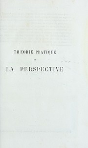 Cover of: Theorie pratique de la perspective