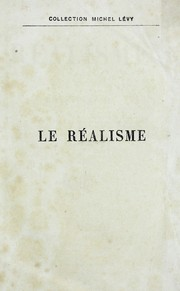 Cover of: Le realisme