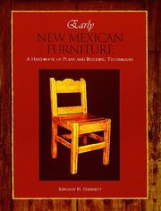 Cover of: Early New Mexican Furniture