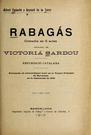 Cover of: Rabaga s : comedia en 5 actes
