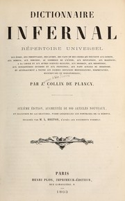 Cover of: Dictionnaire infernal | J.-A.-S Collin de Plancy