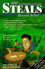 Cover of: 400 steals beyond belief | Eric W. Gershman