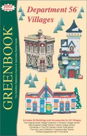 Cover of: Greenbook Guide to Department 56 Villages