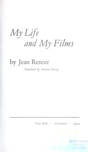 Cover of: My Life and My Films