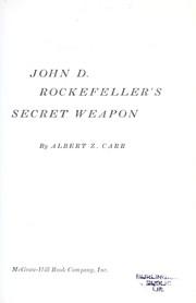 John D. Rockefeller's secret weapon.