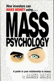 Cover of: How investors can make money using mass psychology