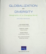 Cover of: Globalization and diversity |