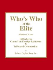 Cover of: Who's who of the elite