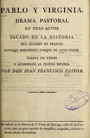 Cover of: Pablo y Virginia