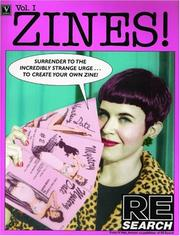 Cover of: ZINES! Volume One