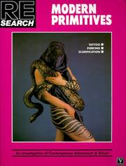 Cover of: Modern Primitives (Re/Search)