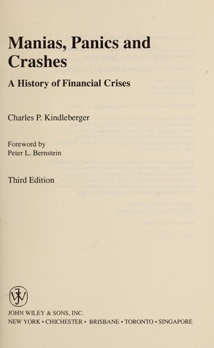 Manias, panics, and crashes : a history of financial crises by
