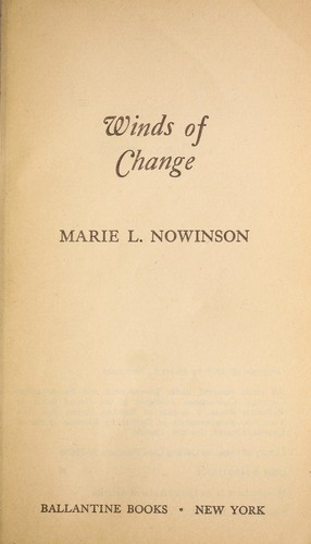 Winds of Change by Marie Nowinson